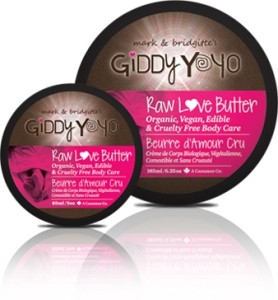 NEW! Giddy Yoyo Raw Love Butter